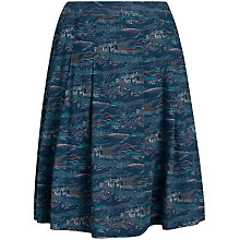 Buy Seasalt Serene Print Skirt, Port Quin Squall Online at johnlewis.com