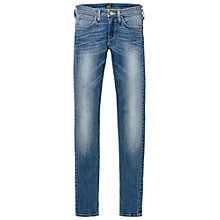 Buy Lee Jade Skinny Tube Jeans, Blue Score Online at johnlewis.com