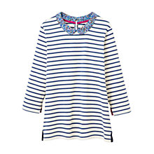 Buy Joules Lily Long Sleeve Sweatshirt with Collar Online at johnlewis.com