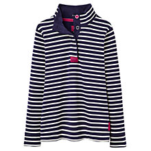 Buy Joules Cowdray Stripe Sweatshirt, Navy Online at johnlewis.com