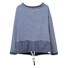 Buy Joules Mariana Sweatshirt Top, Blue Online at johnlewis.com