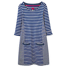 Buy Joules Casual Jersey Dress, Blue Online at johnlewis.com