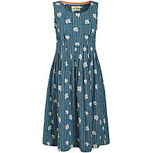 Buy Seasalt Gylly Sleeveless Print Dress, Delfy Posy Chalk Online at johnlewis.com