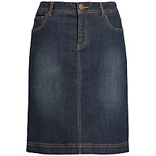 Buy Seasalt Eden Denim Skirt, Dark Wash Online at johnlewis.com