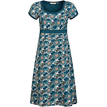 Buy Seasalt Morvoren Print Dress, Headland Floral Salt Online at johnlewis.com
