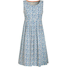 Buy Seasalt Gylly Print Dress, Rain Drops Cirrus Online at johnlewis.com