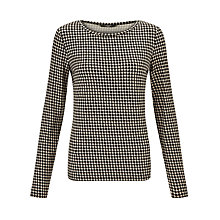 Buy Weekend by MaxMara Spot Jersey Top, Sand Online at johnlewis.com