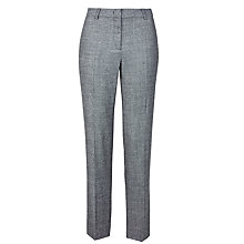 Buy Weekend by MaxMara Kefalos Zip Trousers, Grey Online at johnlewis.com
