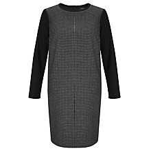 Buy Weekend by MaxMara Check Front Dress, Midnight Blue Online at johnlewis.com