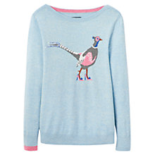Buy Joules Marsha Pheasant Jumper, Nordic Blue Online at johnlewis.com