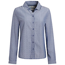 Buy Seasalt Betjeman Shirt, Dobby Cross Indigo Online at johnlewis.com