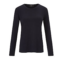 Buy Weekend by MaxMara Jersey Top, Ultramarine Online at johnlewis.com