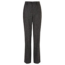 Buy Kayla Tweed Trousers, Grey Online at johnlewis.com