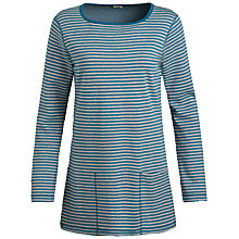 Buy Seasalt Henon Stripe Reversible Tunic, Waterhill Reef Online at johnlewis.com