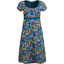 Buy Seasalt Morvoren Print Dress, Pressed Flowers Galley Online at johnlewis.com