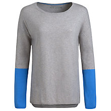 Buy Seasalt Stoneware Jumper, Hessian Dark Wash Online at johnlewis.com
