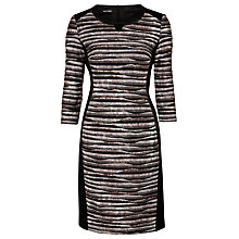 Buy Gerry Weber Formal Dress, Brown/Black Online at johnlewis.com