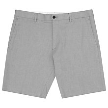 Buy Reiss Lute Jacquard Weave Shorts, Grey Online at johnlewis.com