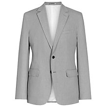 Buy Reiss Lute Jacquard Weave Suit Jacket, Grey Online at johnlewis.com
