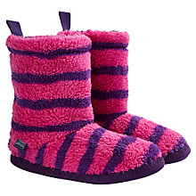 Buy Joules Women's Fluffy Slipper Socks Online at johnlewis.com