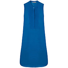 Buy Gerard Darel Agora Tunic Cotton Dress, Peacock Blue Online at johnlewis.com
