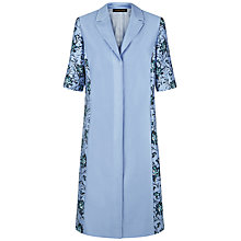 Buy Jaeger Carnation Coat, Windmill Blue Online at johnlewis.com