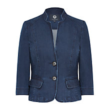 Buy Viyella Tencel Denim Jacket, Indigo Online at johnlewis.com