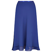 Buy Jacques Vert Double Layer Skirt, Blue Online at johnlewis.com