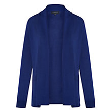 Buy Viyella Merino Wool Pure Cardigan, Cobalt Online at johnlewis.com
