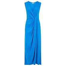 Buy Planet Draped Maxi Dress, Azure Online at johnlewis.com