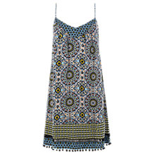 Buy Warehouse Dial Mix Print Camisole Dress, Multi Online at johnlewis.com