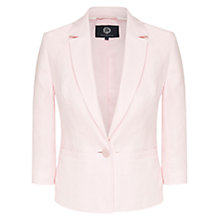 Buy Viyella Linen Jacket, Pale Pink Online at johnlewis.com