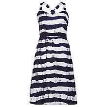 Buy Sugarhill Boutique Nautical Stripe Dress, Navy / White Online at johnlewis.com