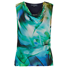 Buy Viyella Silk Blend Digital Print Top, Amazon Online at johnlewis.com