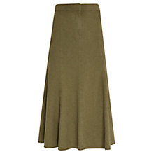 Buy Viyella Petite A-line Skirt, Khaki Online at johnlewis.com
