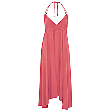 Buy French Connection Jersey Beach Maxi Dress, Passion Pink Online at johnlewis.com