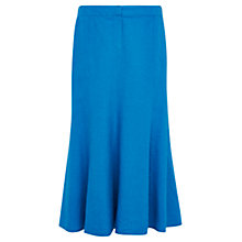 Buy Viyella Linen Blend Skirt, Turquoise Online at johnlewis.com