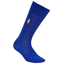 Buy Polo Ralph Lauren Spot Socks Online at johnlewis.com