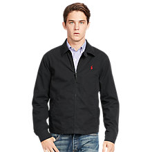 Buy Polo Ralph Lauren Landon Jacket, Black Online at johnlewis.com