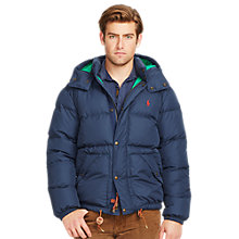 Buy Polo Ralph Lauren Elmwood Down Jacket, Portland Navy Online at johnlewis.com