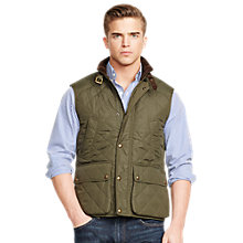 Buy Polo Ralph Lauren Southbry Quilted Gilet, Litchfield Olive Online at johnlewis.com