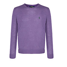 Buy Polo Ralph Lauren Merino Slim Fit Jumper Online at johnlewis.com