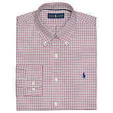 Buy Polo Ralph Lauren Classic Luxury Oxford Check Shirt Online at johnlewis.com