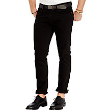 Buy Polo Ralph Lauren Slim Straight Varick Jeans, Hudson Black Online at johnlewis.com