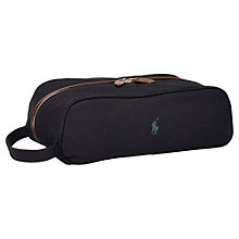 Buy Polo Golf by Ralph Lauren Shoe Bag, Black Online at johnlewis.com