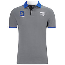 Buy Hackett London AMR Polo Shirt, Steel Grey Online at johnlewis.com