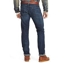 Buy Polo Ralph Lauren Varick Slim Straight Jeans, Blue Online at johnlewis.com