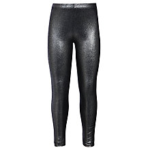 Buy John Lewis Girls' Foil Leggings Online at johnlewis.com