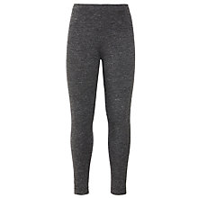 Buy John Lewis Girls' Lurex Glitter Leggings, Grey Online at johnlewis.com