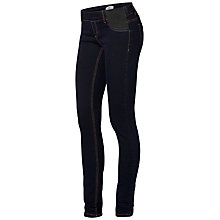 Buy Mamalicious Ida Skinny Maternity Jeggings, Denim Blue Online at johnlewis.com